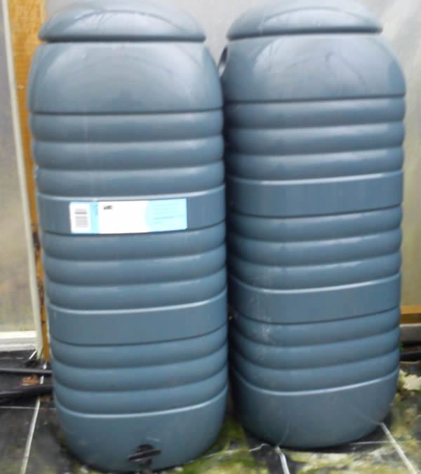 hydroponics equipment - Nutrient stock solution storage